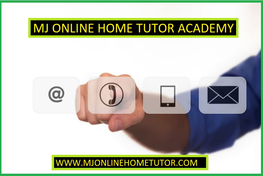 BEST ONLINE HOME TUTOR ACADEMY FOR HOME TUITION SERVICE MJ ONLINE HOME TUTOR ACADEMY contact us for home tutor and online tutor.