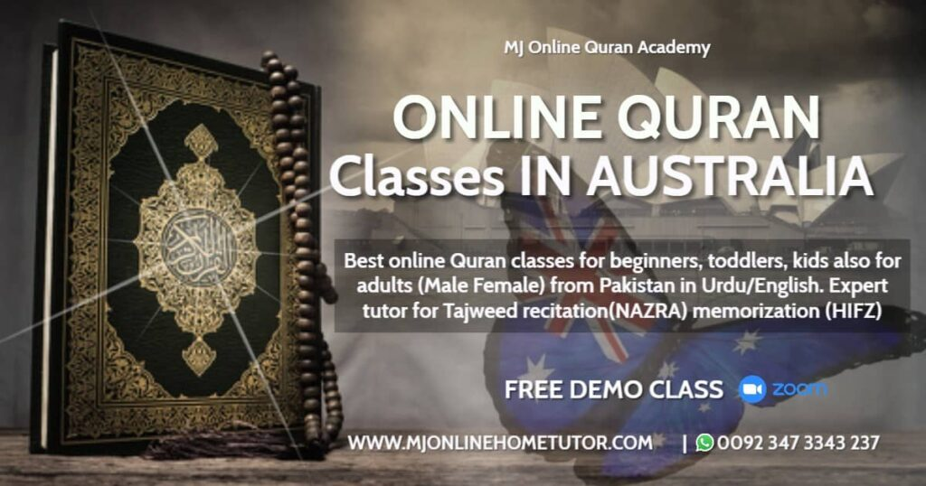 ONLINE QURAN ACADEMY AUSTRALIA Quran Learning for kids Adults in the USA, UK, CA and Australia. We have the best Instructors to teach the Quran for adults
