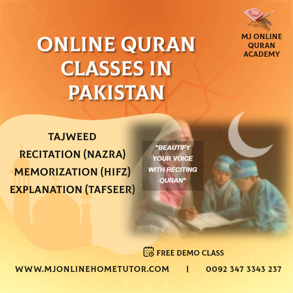 THE BEST QURAN ACADEMY from Pakistan in Urdu/English with Expert tutor to learn quran with Tajweed recitation
