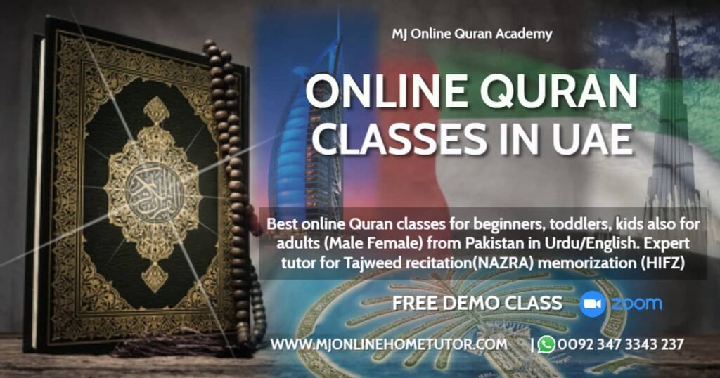 quran online via ZOOM & Skype in UAE,. we have high qualified and well experienced teacher. we offer Hifz classes