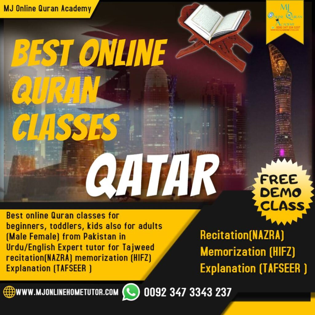Learn Quran online with Tajweed for kids, adults & women in QATAR
