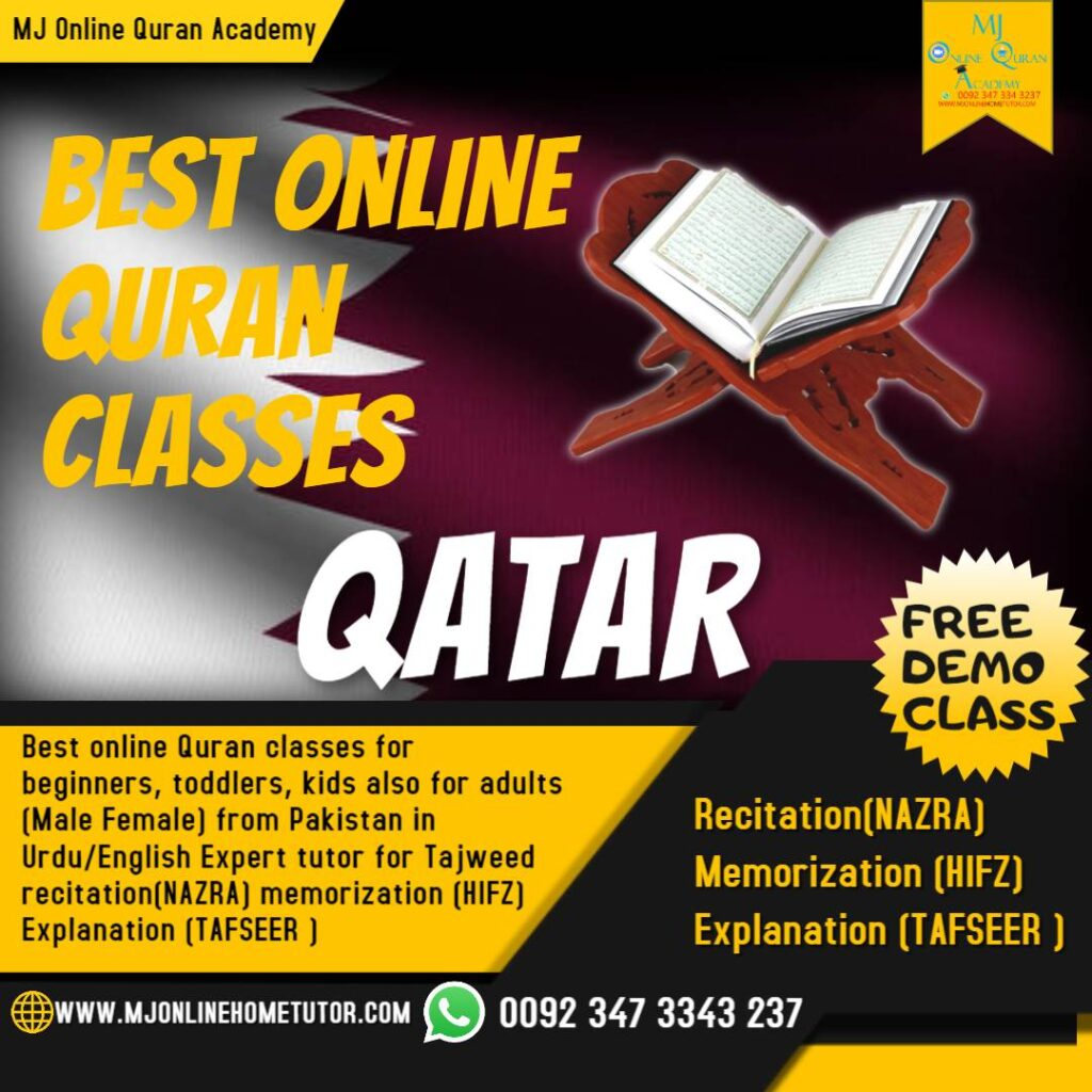 online Quran at home in UK USA UAE QATAR CANADA, Australia, Quran classes are taken by expert online Quran