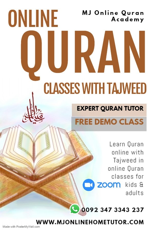 ONLINE QURAN CLASSES WITH TAJWEED